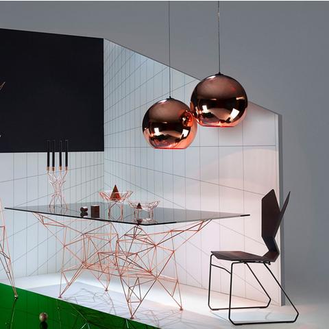 Дизайнерские светильники Copper Shade Collection от Tom Dixon