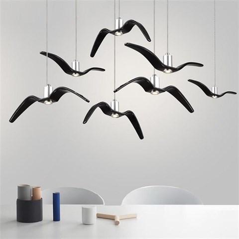 Светильники Night Birds  – прообраз паращих чаек