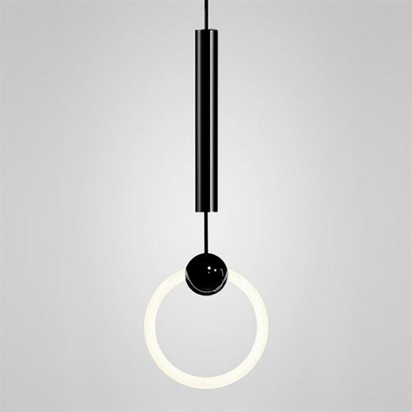 Светильник Ring Light Black D20 - фото 10021