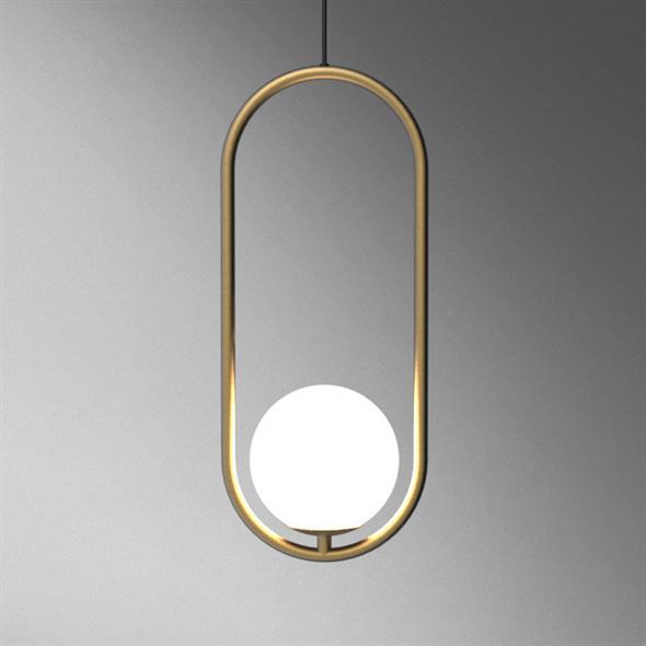 Светильник подвесной HOOP тип С - фото 10148
