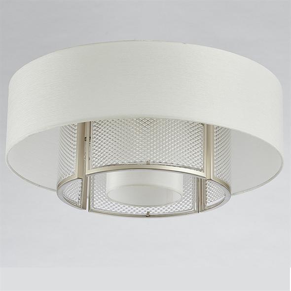 Потолочный светильник Bakersfield, Silver perla Champagne D55*H32 cm - фото 10864
