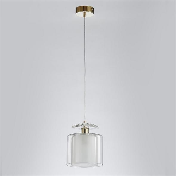Подвесной светильник Pittsburgh, Gold Clear crystal Clear glass D15*H19/269 cm - фото 11501