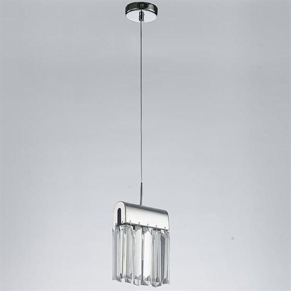 Подвесной светильник New Orleans, Chrome Clear L18*H20*Sp15 cm - фото 25121
