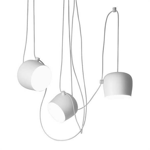 Светильник подвесной  Aim 3 White - фото 4824