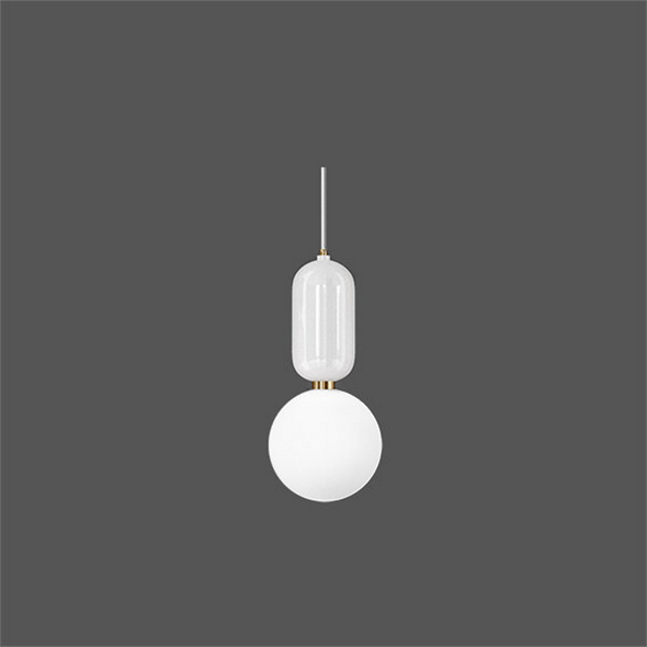 Светильник Parachilna  Aballs D18 белый - фото 4929