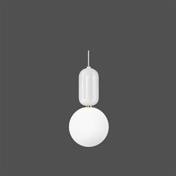 Светильник  Parachilna Aballs D24 белый - фото 4931