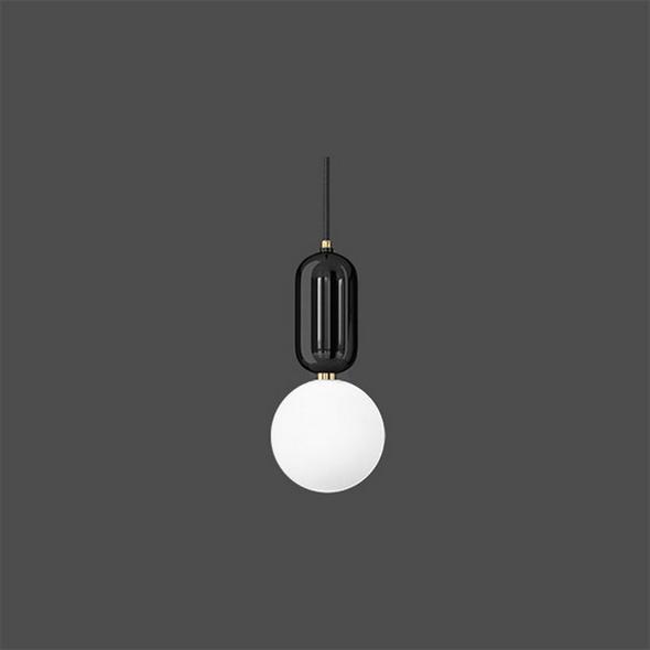 Светильник  Parachilna Aballs D18 черный - фото 4937