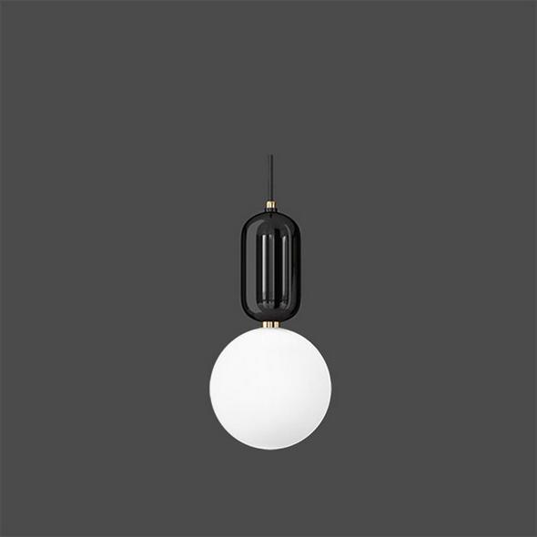 Светильник Parachilna  Aballs D24 черный - фото 4939