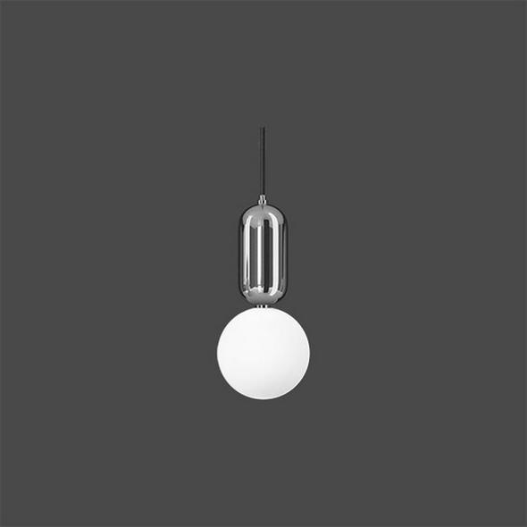 Светильник  Parachilna Aballs D18 хром - фото 4954