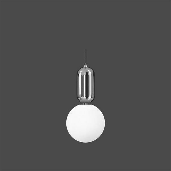 Светильник  Parachilna Aballs D24 хром - фото 4956