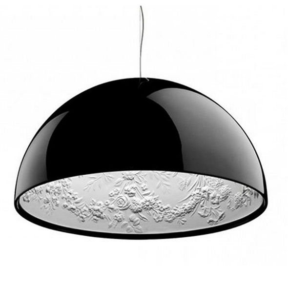 Светильник  Skygarden Black D90 - фото 5066