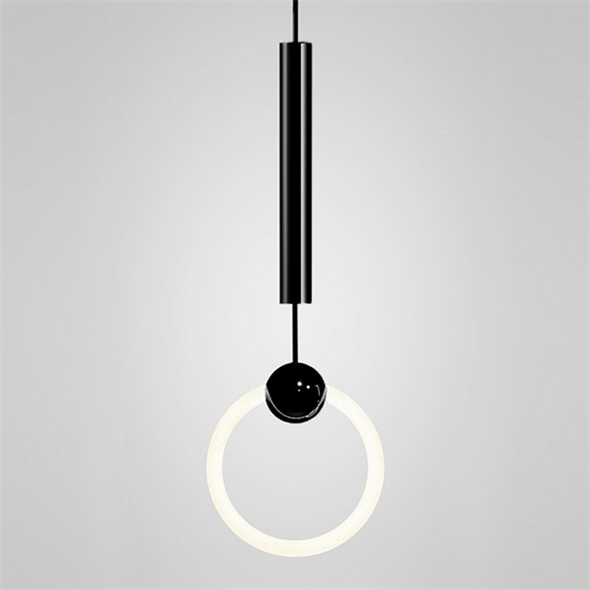 Светильник Ring Light Black D30 - фото 5326