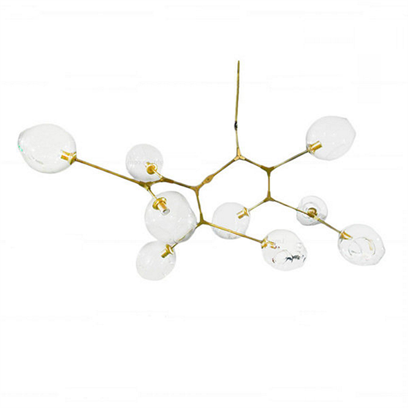 Люстра Branching Bubbles 9 Gold - фото 5502