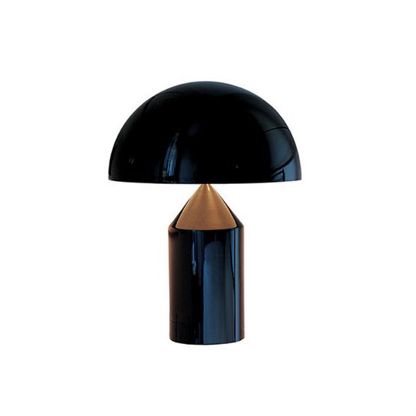 Настольная лампа Atollo Black D38 - фото 5613