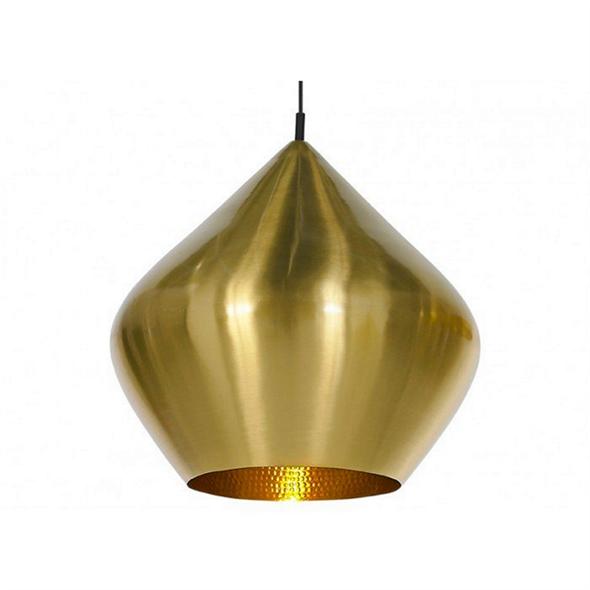 Cветильник Beat Light Stout Gold Диаметр 30 см / Высота 28 см - фото 5799