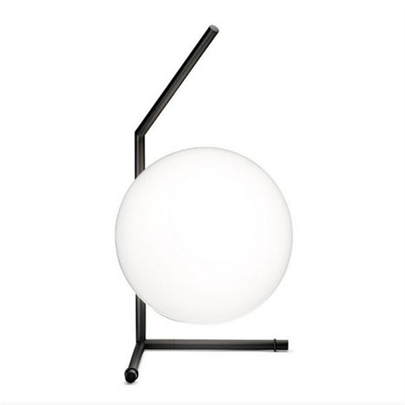 Настольная лампа IC Lighting Table 1 Low Black - фото 6152