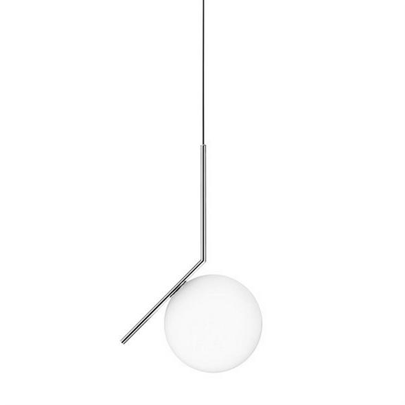 Светильник IC Lighting S Chrome Pendant Lamp - фото 6166