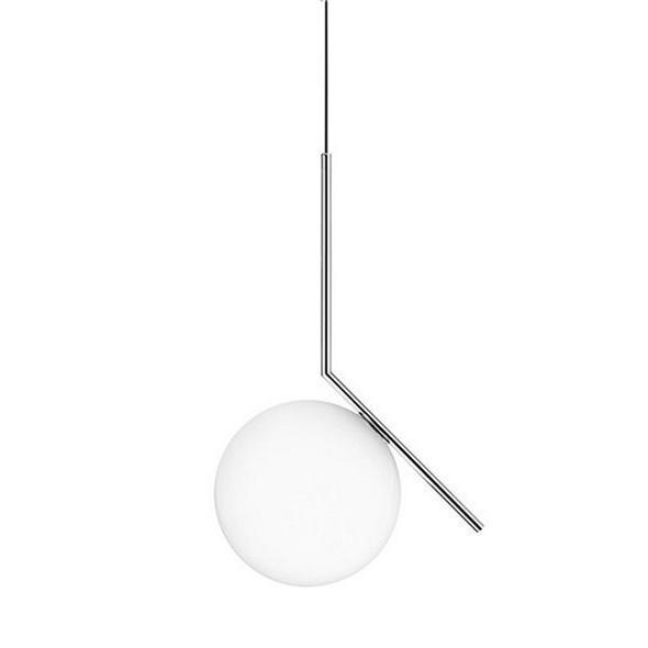 Светильник IC Lighting S2 Chrome Pendant Lamp - фото 6173