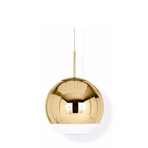 Светильник Mirror Ball Gold D30 - фото 6584