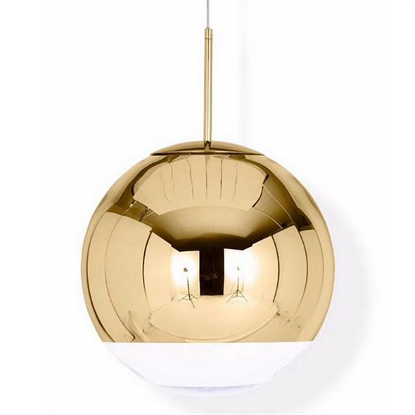 Светильник Mirror Ball Gold D35  Золотой - фото 6588