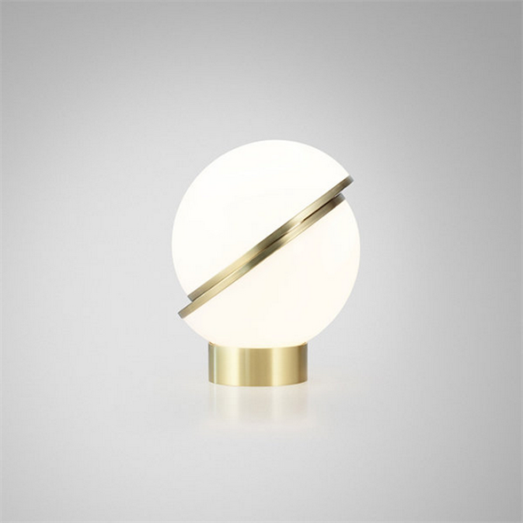 Настольная лампа Crescent Table Lamp Gold - фото 6751