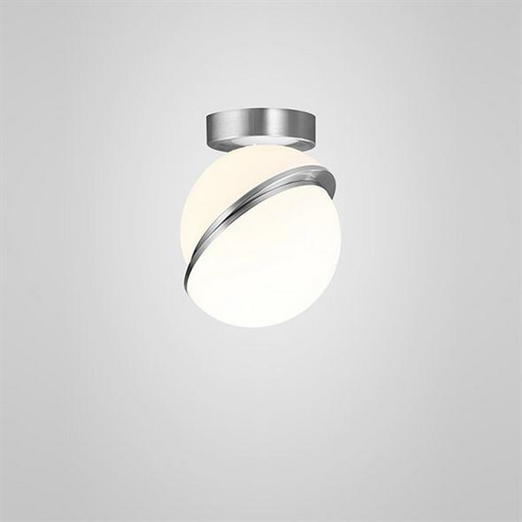Светильник Crescent Ceiling Light Chrome - фото 6755