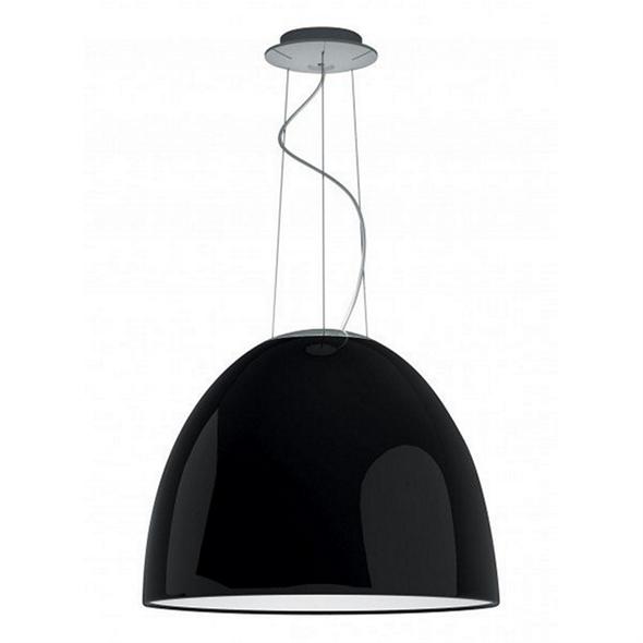 Люстра Nur Gloss  Диаметр 55 см / Высота 43 см Черный - фото 7003