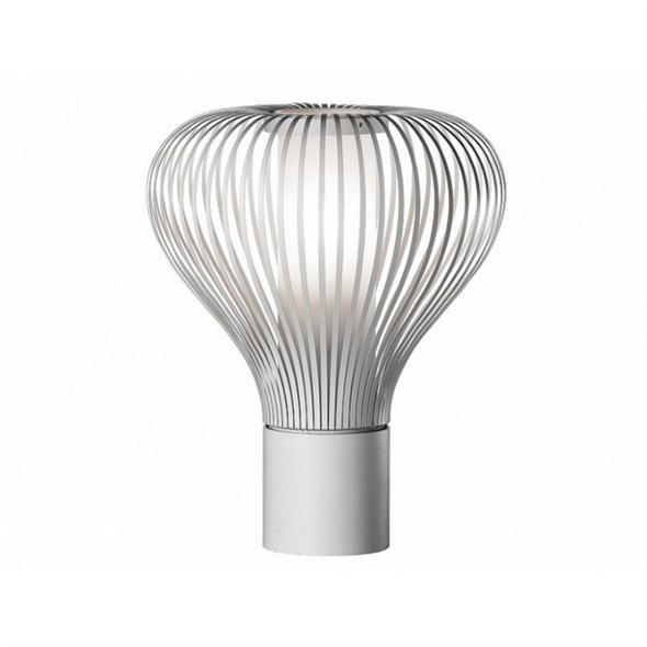 Лампа настольная Chasen Диаметр 28 см / Высота 45 см Белый - фото 7128