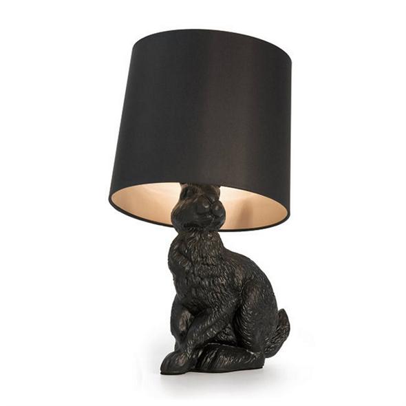 Лампа настольная Rabbit  Front Черный - фото 7189