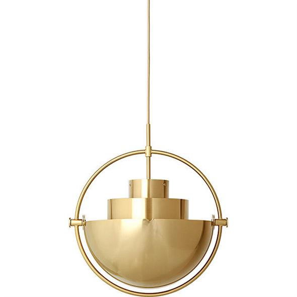 Светильник Multi-lite Pendant Gold - фото 7194
