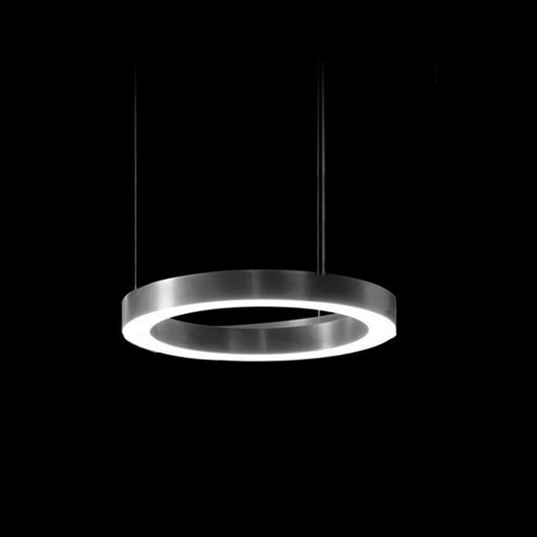 Светильник Light Ring Horizontal D30 Nickel - фото 7235