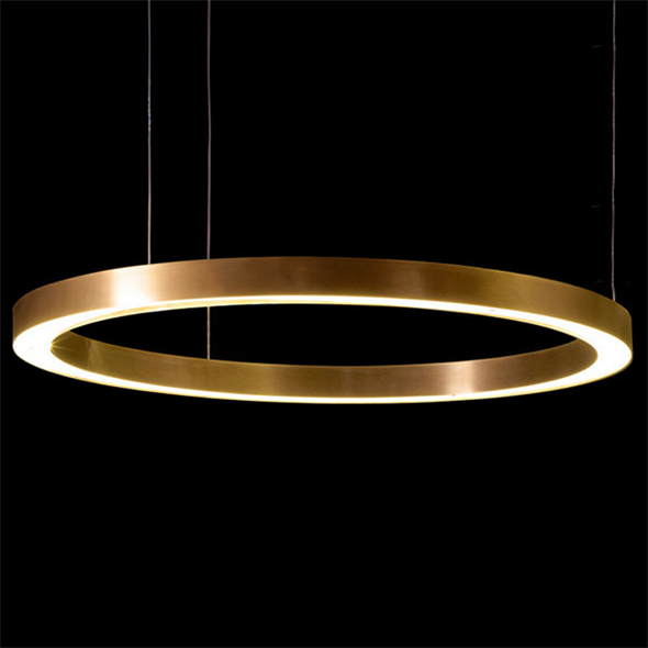 Светильник Light Ring Horizontal D100 Copper - фото 7238