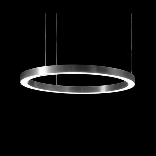 Светильник Light Ring Horizontal D80 Nickel - фото 7247