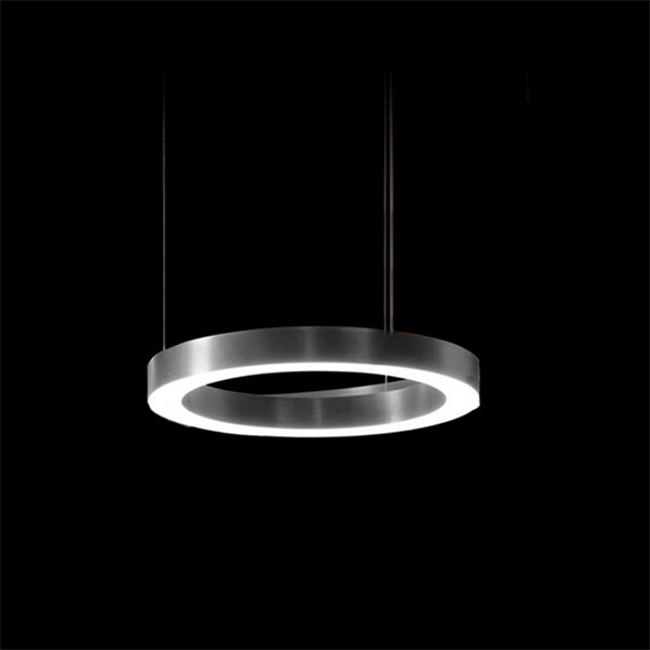 Светильник Light Ring Horizontal D40 Nickel - фото 7250