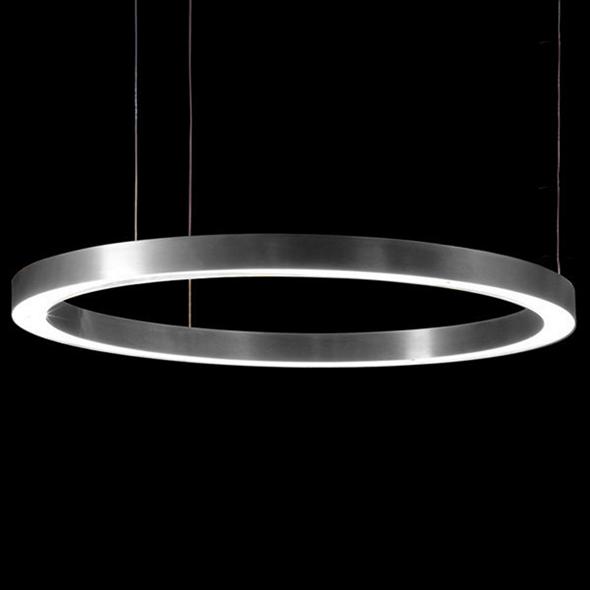 Светильник Light Ring Horizontal D90 Nickel - фото 7253