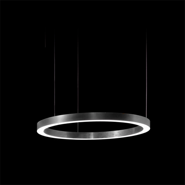 Светильник Light Ring Horizontal D50 Nickel - фото 7256