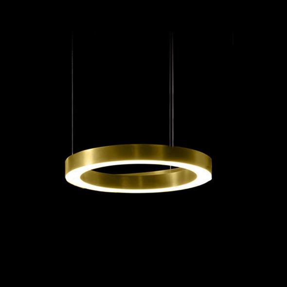 Светильник Light Ring Horizontal D30 Brass - фото 7259