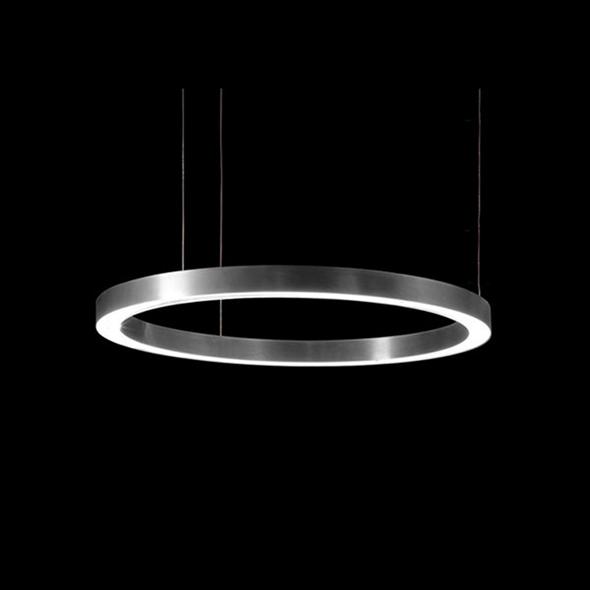 Светильник Light Ring Horizontal D60 Nickel - фото 7263