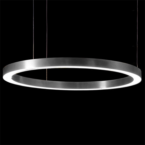 Светильник Light Ring Horizontal D100 Nickel - фото 7276