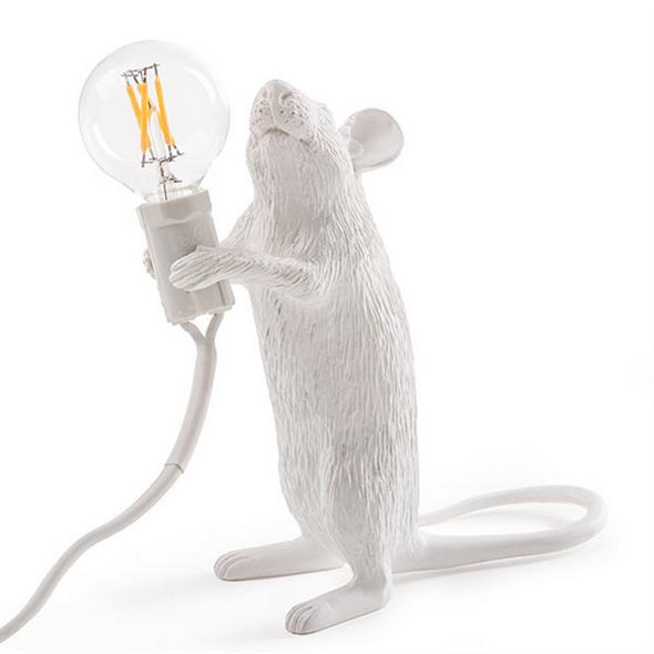 Настольная Лампа Мышь Mouse Lamp #1 H15 см - фото 7663