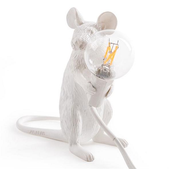 Настольная Лампа Мышь Mouse Lamp #2 H12 см - фото 7668