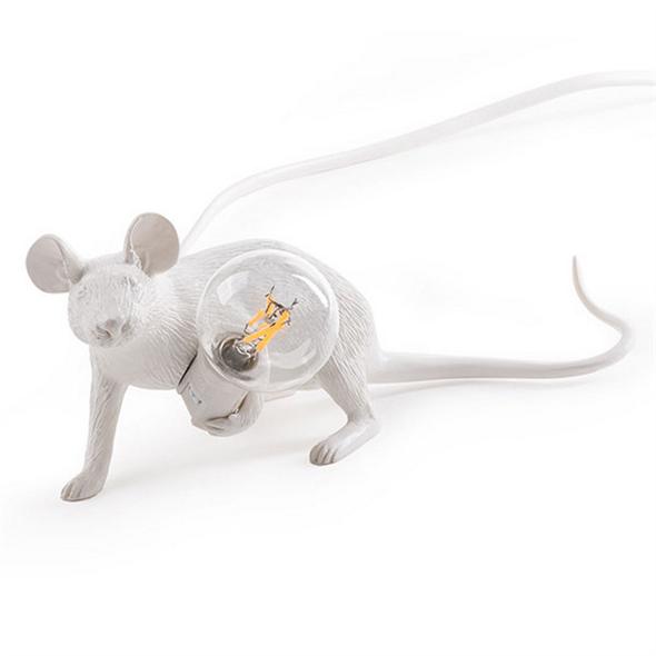 Настольная Лампа Мышь Mouse Lamp #3 H8 см - фото 7673