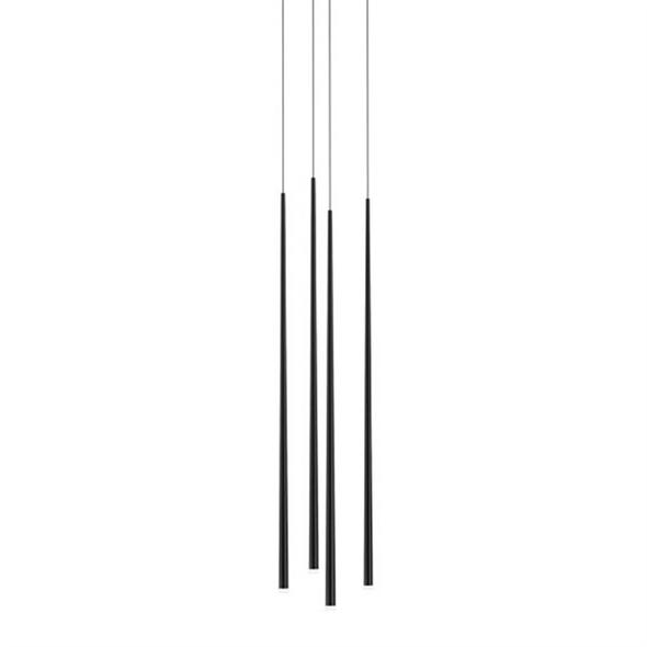 Светильник подвесной Slim 4 Black Round - фото 7695