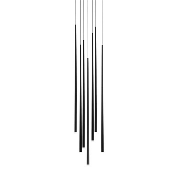 Светильник  Slim 7 Black Round - фото 7710