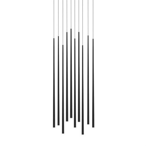 Светильник Slim 10 Black Round - фото 7711