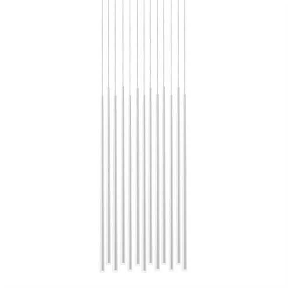 Светильник  Slim 13 White Rectangle - фото 7720