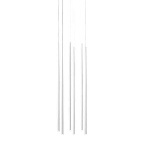 Светильник  Slim 6 White Rectangle - фото 7728