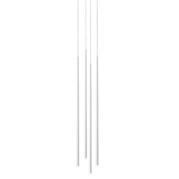 Светильник  Slim 4 White Round - фото 7734