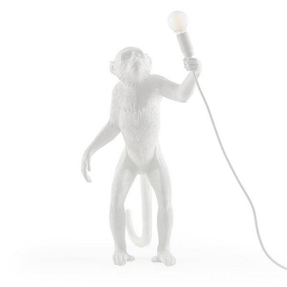 Торшер Обезьяна с Лампой Monkey Floor Lamp - фото 7802