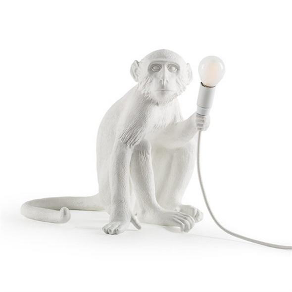 Настольная лампа Обезьяна Monkey Table Lamp - фото 7806